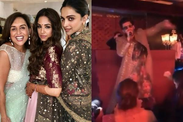 deepika ranveer attend friend urvashi keswani wedding in bangalore