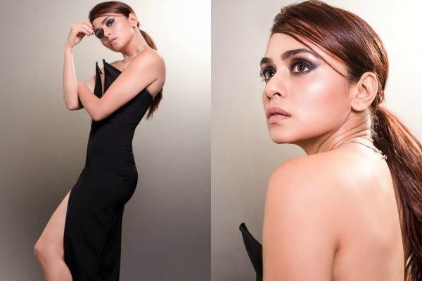 amruta khanvilkar looks bold in backless dress