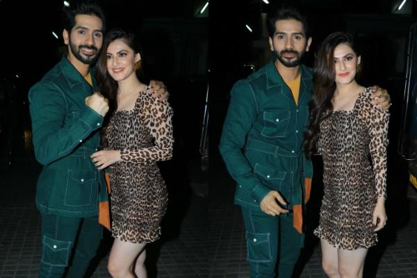 shivaleeka oberoi and vardhan puri at screening of yeh saali ashiqui