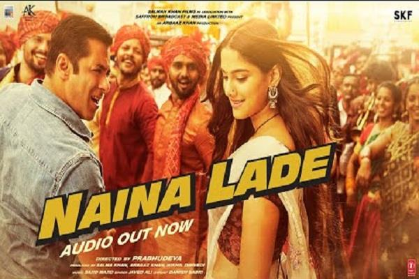 dabangg 3 new song naina lade released