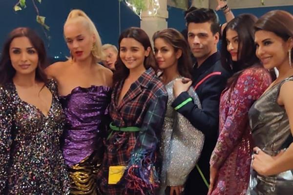 Inside Pics: करण जौहर की पार्टी में बी-टाउन की हसीनाओं संग कैटी पेरी की मस्ती