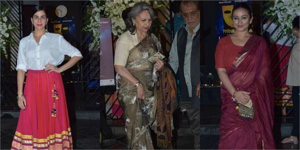 bollywood stars spotted at opening of prithvi film festival