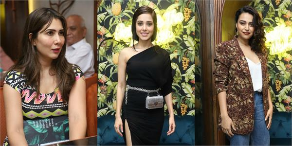 nusrat kim sharma and others stars at lean kitchen launch event