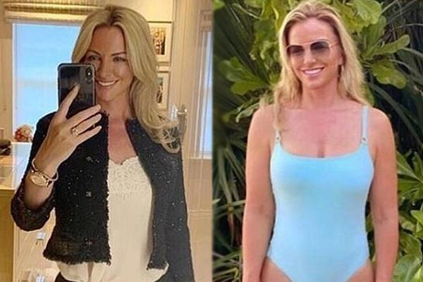 see pictures of 48 years old actress michelle mone after weight loss