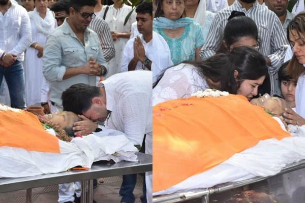 bollywood stars not attend celebrity photographer dabboo ratnani mom funeral