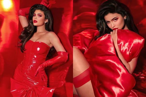kylie jenner raised the internet temperatures with her latest pictures
