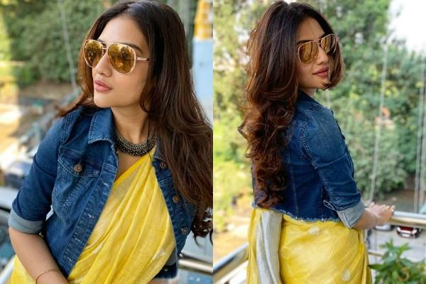 nusrat jahan looks trendy in her latest photos