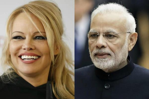 actress pamela anderson wrote a letter to pm narendra modi
