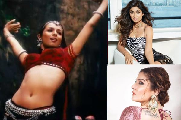 raveena tandon  shilpa shetty were approached for chaiyya song