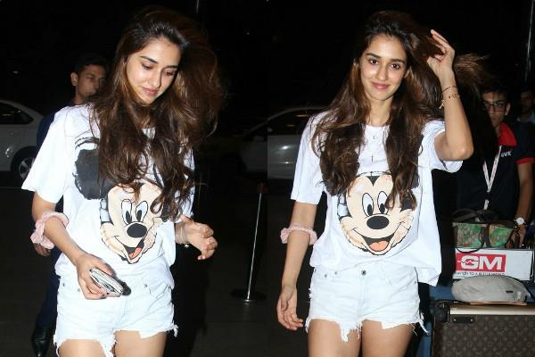 disha patani spotted at airport