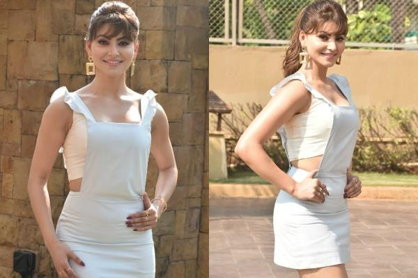 urvashi rautela looks stunning during pagalpanti promotion