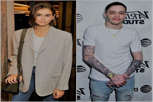 pete davidson and kaia gerber new pics gone viral