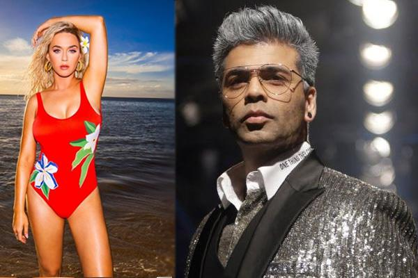 karan johar to host a grand party for pop singer katy perry