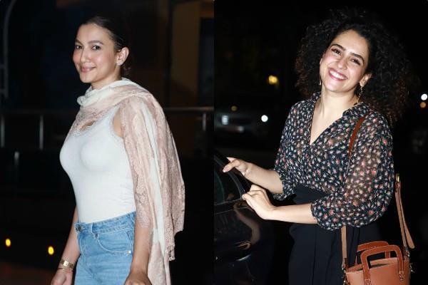 gauhar khan and sanya malhotra looked stunning