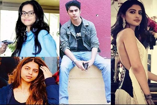 from shahrukh to ajay devgan children of these stars study out of india