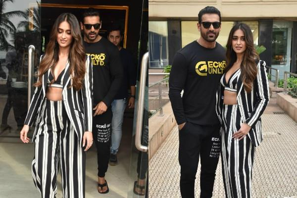 ileana d cruz and john abraham promoted the film
