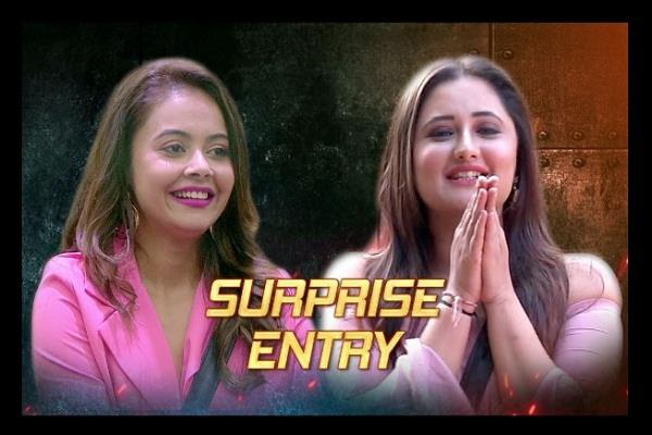 rashmi devoleena returns to big boss house after fake elimination