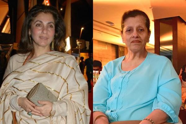 dimple kapadia broke silence on the news of being admitted to the hospital