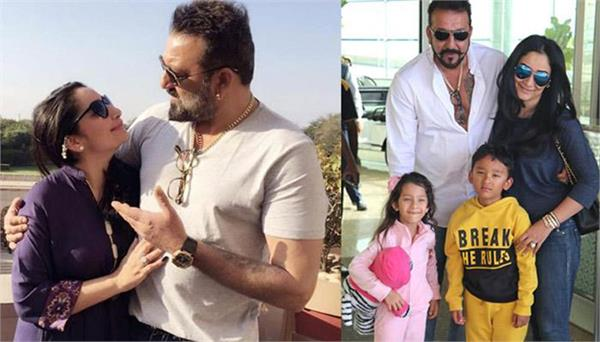 sanjay dutt and his wife want to give normal childhood to their children
