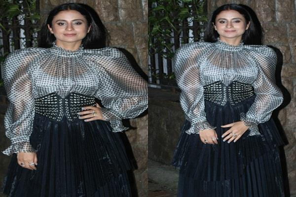 rasika dugal arrived at the event of gq india magazine