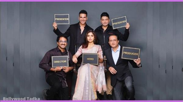 akshay kumar and bhumi pednekar start new movie durgavati shooting