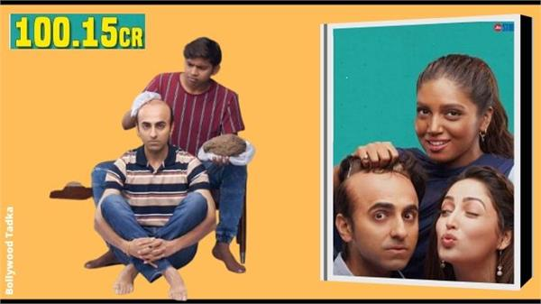 ayushmann khurrana bala movie entered in 100 crore