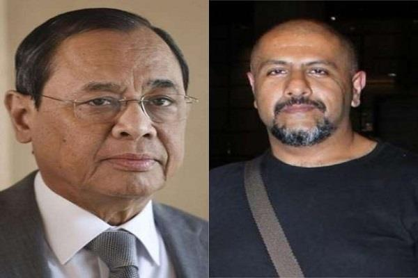 vishal s derogatory tweet on former cji ranjan gogoi users raging on singer