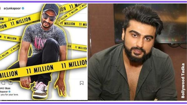 arjun kapoor s instagram followers above 1 crore 10 lakh