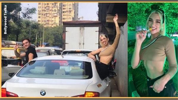 international singer dua lipa in mumbai traffic jam