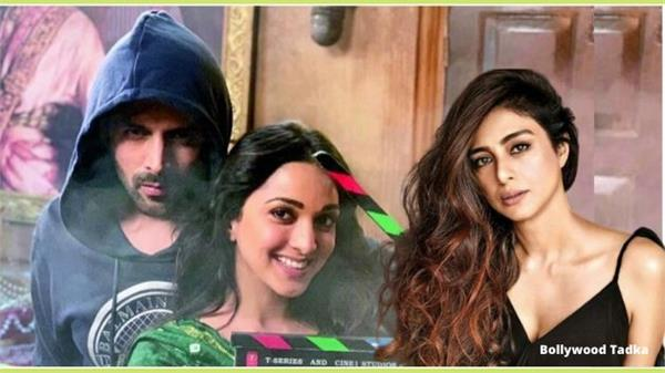 kartik aaryan kiara advani and tabu in bhool bhulaiya 2
