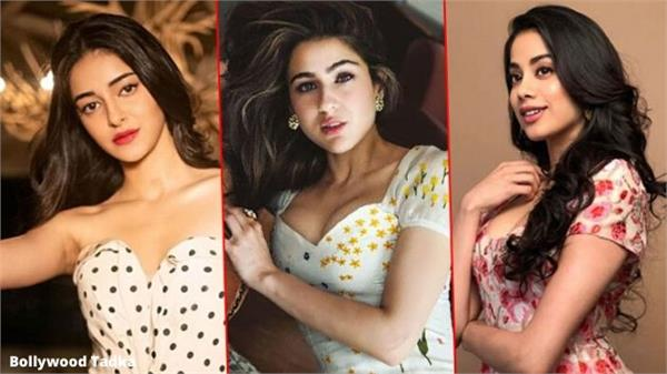 sara ali khan and jhanvi kapoor and ananya pandey