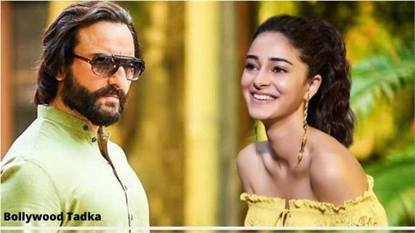 saif ali khan and ananya pandey