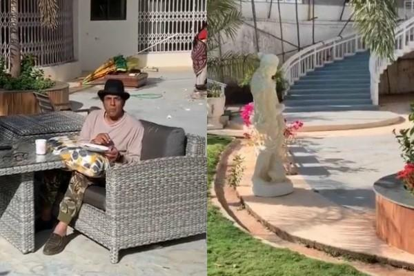 dharmendra share his farm house bungalow inside video