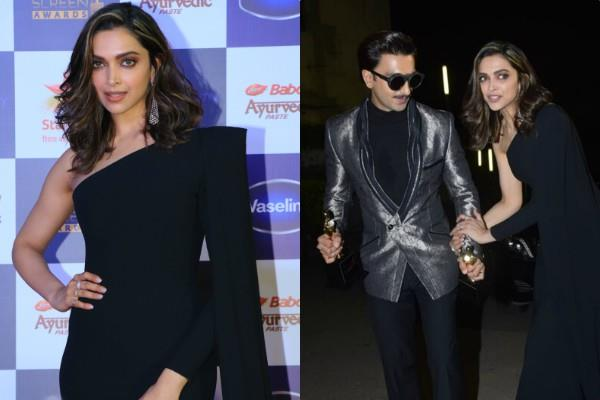ranveer singh deepika padukone perfect couple goals at star screen awards 2019