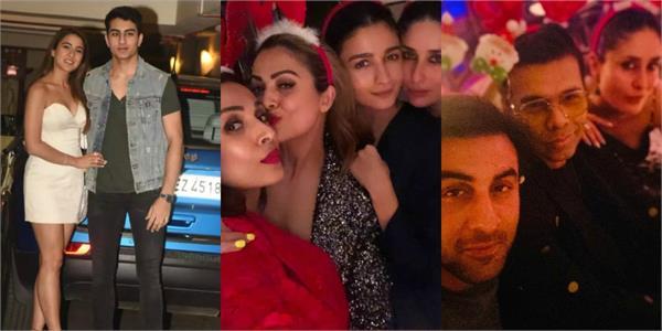 kareena kapoor khan christmas party celebration inside pictures viral