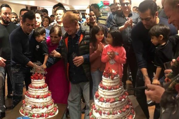 salman khan celebrates his birthday with friends and family