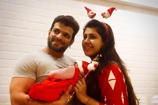 karan patel ankita bhargava share first picture of daughter mehr