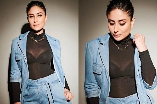 kareena kapoor khan denim on denim look impress the fans