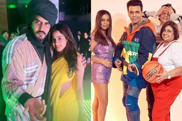 'चांदनी' बनीं जाह्ववी, गौरी-करण को KKHH के टीना-राहुल बने देख शाहरुख ने पकड़ा माथा