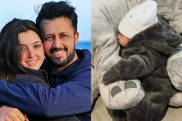 atif aslam and his wife sara bharwana blessed with a baby boy
