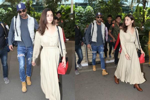 alia bhatt return mumbai with ranbir kapoor after shooting brahmastra