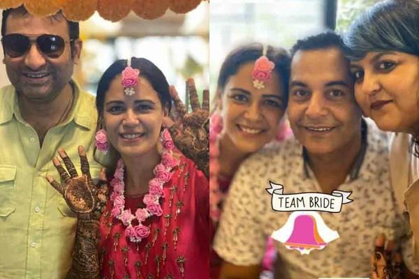 jassi jaissi koi nahin fame mona singh mehndi ceremony pictures viral