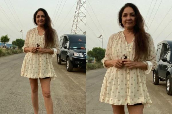 60 years neena gupta share her picture in frock fans gets shocked