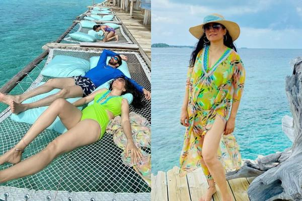 bajrangi bhaijaan director enjoy vacation in maldives with family