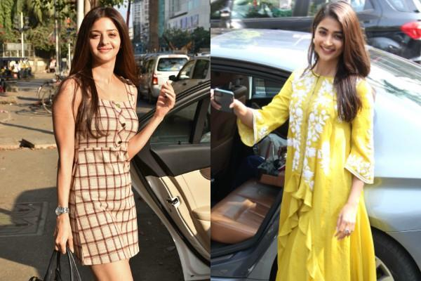 pooja hegde and vedhika kumar looked stunning