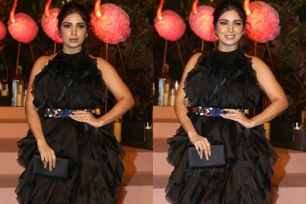 bhumi pednekar at auction hosted by isha ambani