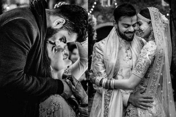 anushka sharma cute message for virat kohli on second anniversary