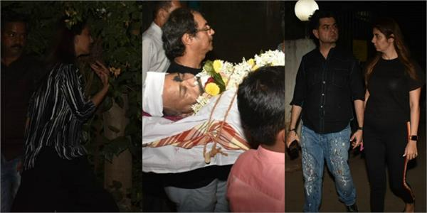 anushka sharma make up artist subhash wagal funeral pictures