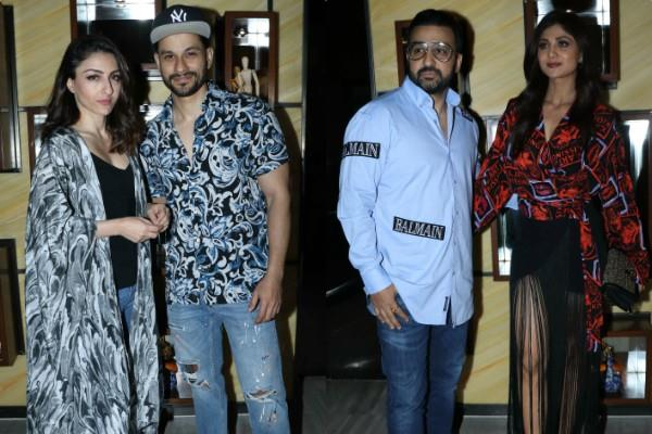 soha  shilpa shetty and others attend nisha birthday bash