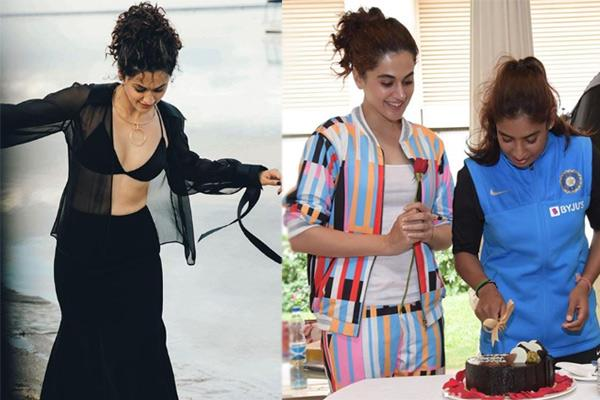 taapsee pannu wish happy birthday to mithali raj see pics